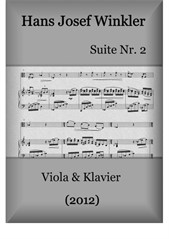 Suite No.2 with three dances (Duo with viola)