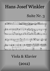 Suite No.3 with three dances (Duo with viola)
