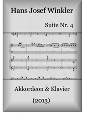 Suite No.4 with three dances